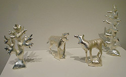 Thylacine Diorama
