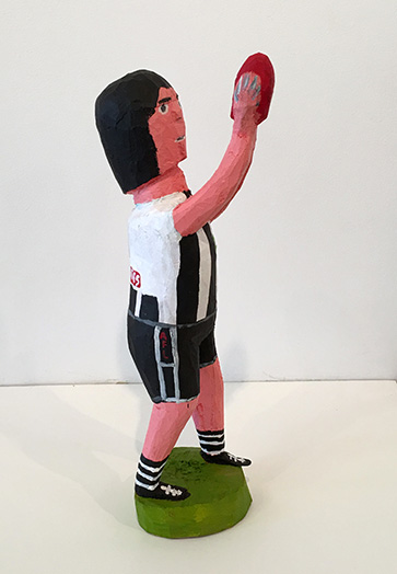 Football player Collingwood #10