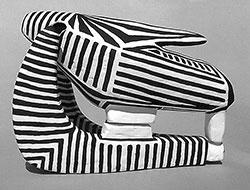Zebra Skull's Reflection