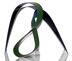 SOH - Black, Chromium Oxide Green, Ultramarine Blue & Pink