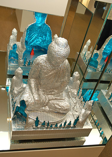 The Moondisk of the Blue Buddha of Compassion, In Bhumisparsha: of process