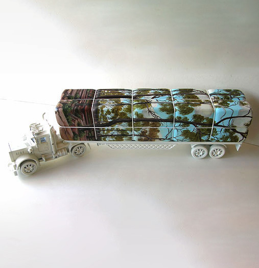 Untitled (Logging Truck from Inland Series) 2007