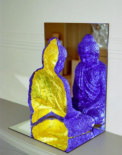 Reflected Buddha Form