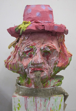 Self Portrait In Pink Hat