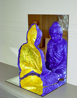 Reflected Buddha Form